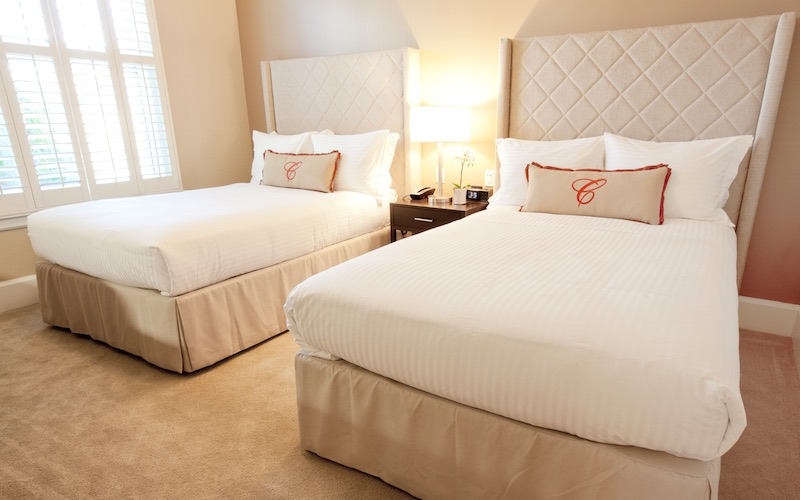 Cardinal Hotel Standard room type with two double beds