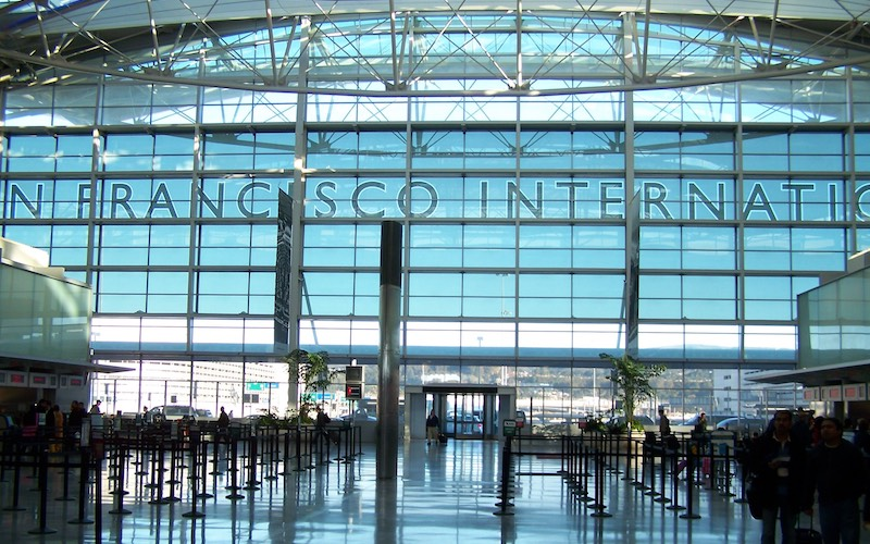 SFO airport international terminal
